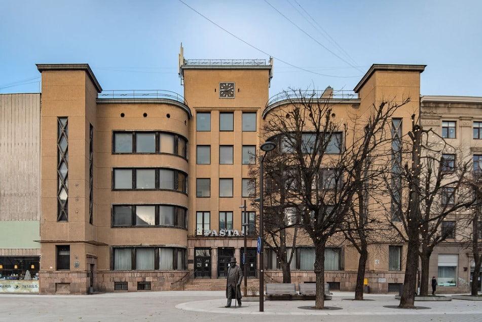kauno centrinis pastas kauno modernizmas modernism architecture
