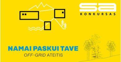 Balsavimas: išrinkite simpatiškiausią off-grid namelį