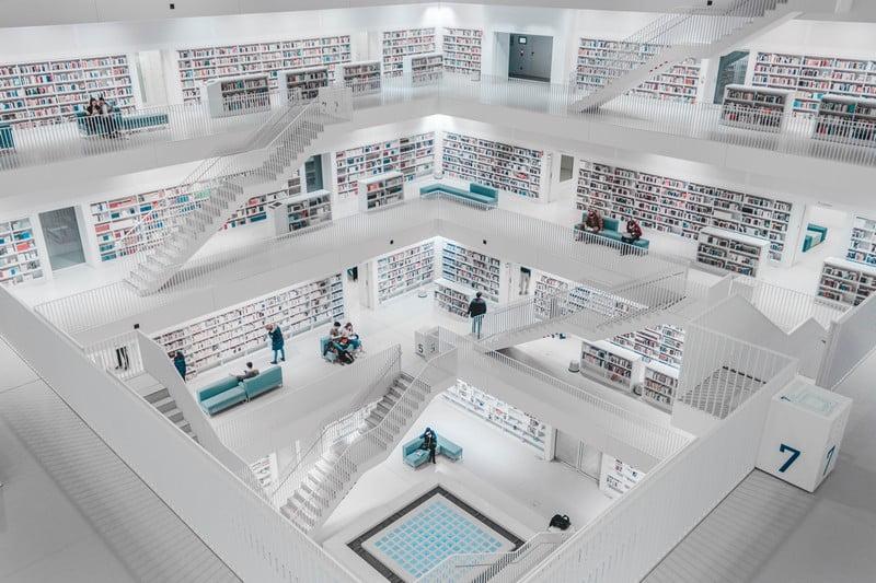 biblioteka architektura