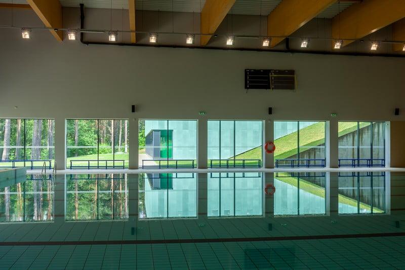 Universali sportininkų treniruočių bazė baseinas