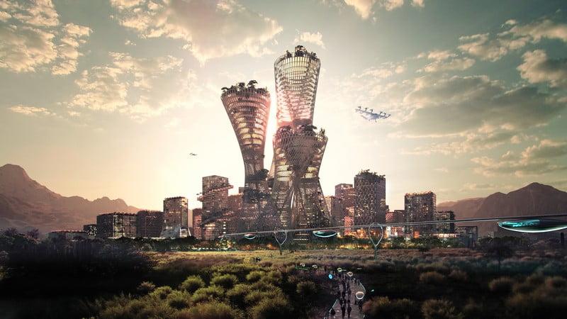 telosas jav ateities miestas