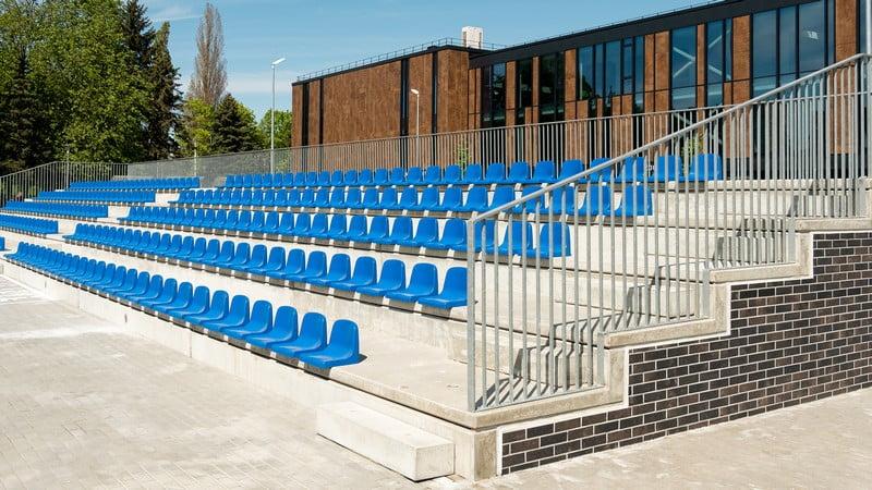 klaipedos futbolo mokykla tribunos