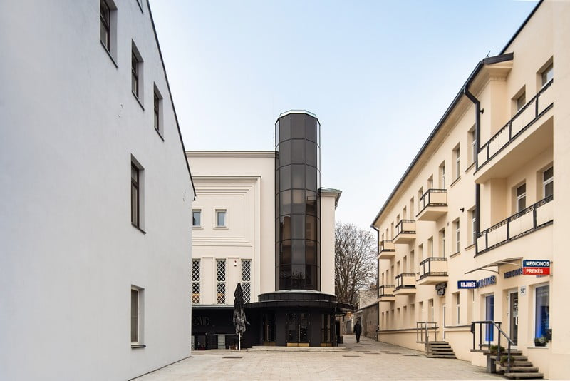 kaunas modernizmo architektura modernism architecture romuvos kino teatras