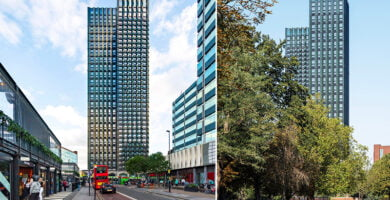 Įgyvendintas aukščiausio pasaulyje modulinio būsto projektas