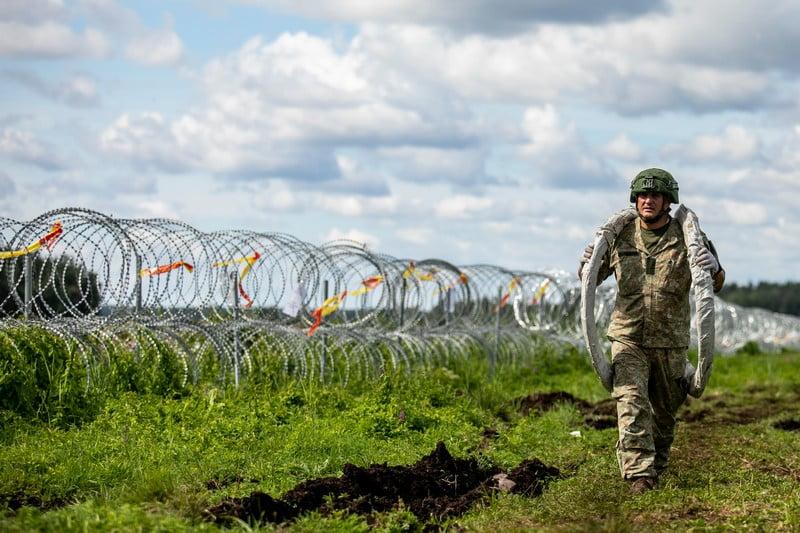 tvora pasienis baltarusija border lithuania belarus