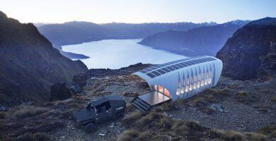 Sukurtas didžiausias pasaulyje 3D spausdintas off-grid pastatas