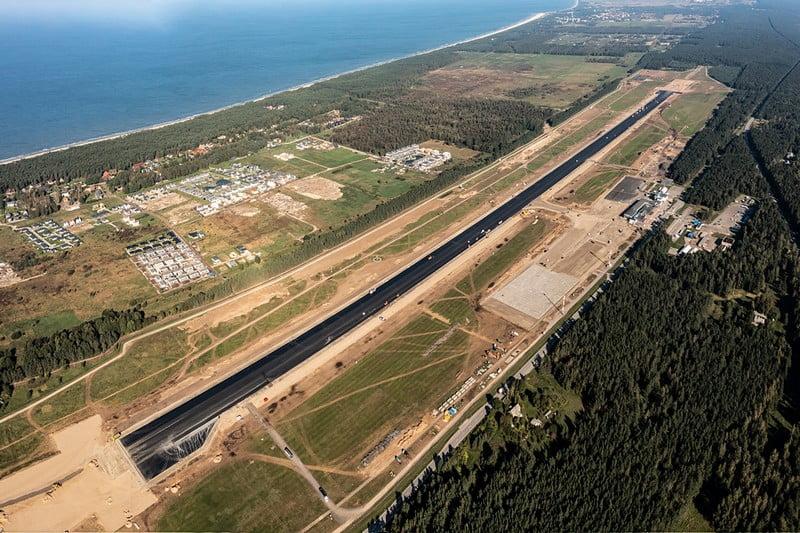 palangos oro uostas dronas