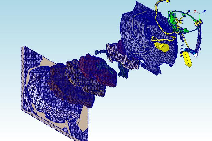 Geologiniai Gedimino kalno sluoksniai su konstrukcijomis Saruno Skuodzio nuotr.