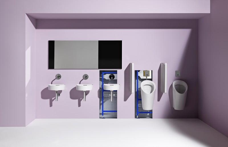 LAUFEN bekontakciai sprendimai viesam WC