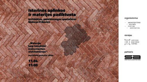 Paskaitos vizualų autorė Justė Pečiulytė.
