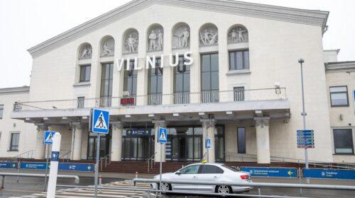 Vilniaus oro uostas.