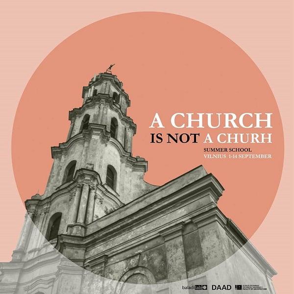 A CHURCH IS NOT A CHURCH 1