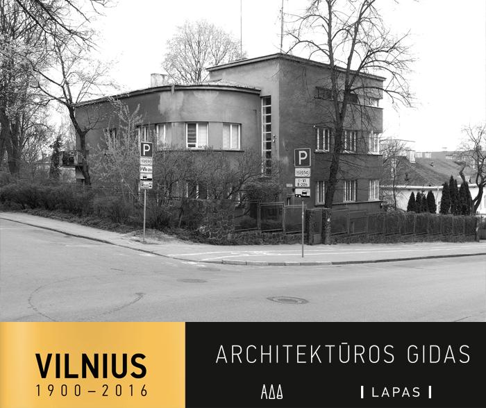 K. Kalinausko g. 3-uoju numeriu pažymėtas vienas gražiausių tarpukario Vilniaus gyvenamųjų namų. Aiškios geometrinės formos, darnių proporcijų modernistinis pastatas 1939 m. iškilo pagal Izak Smorgoński projektą.