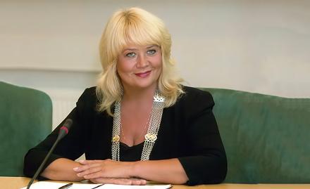 Visagino savivaldybės merė Dalia Štraupaitė