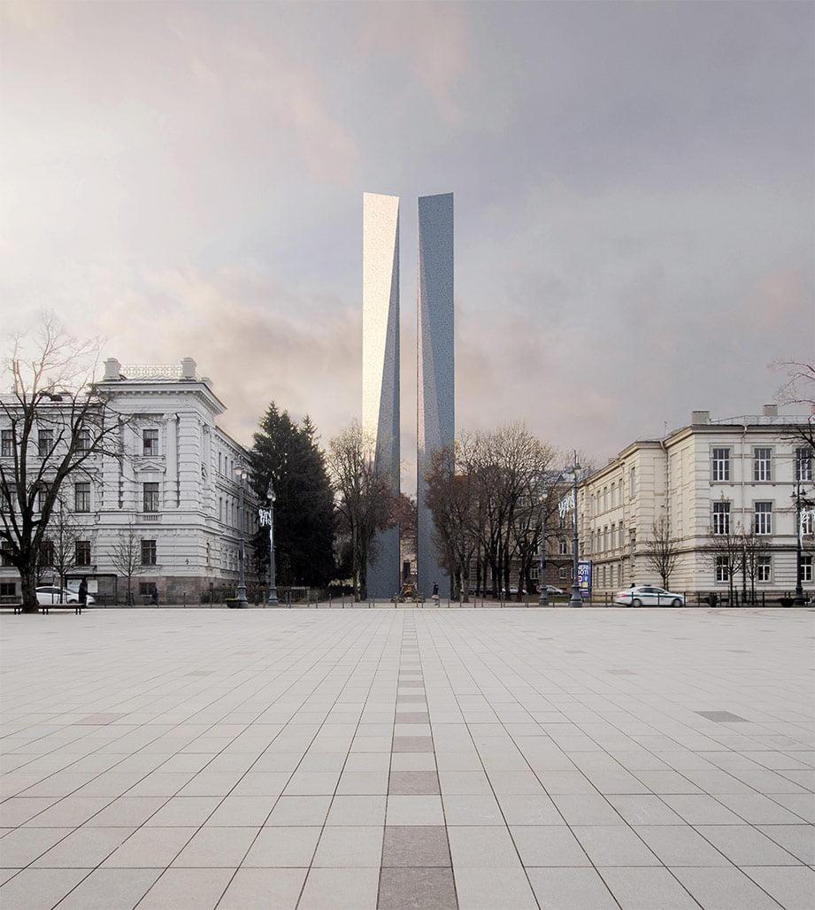 Architektas Audrius Ambrasas. Justo Jankausko vizual.