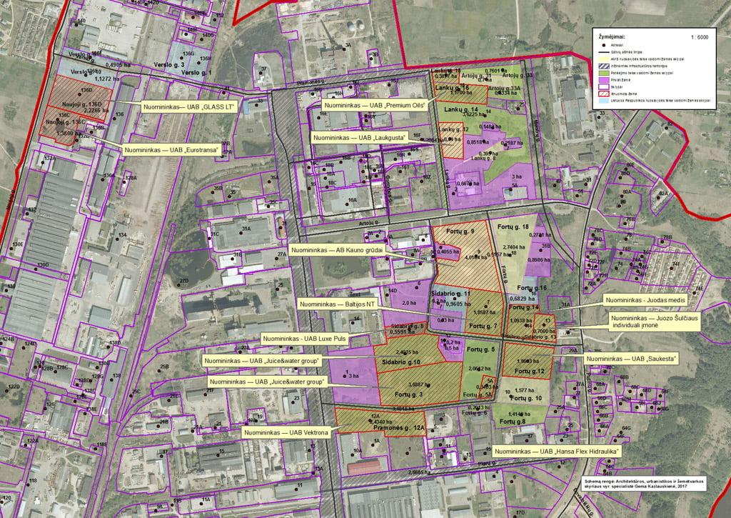 Alytaus pramonės parko teritorija užima 63,3375 ha plotą.