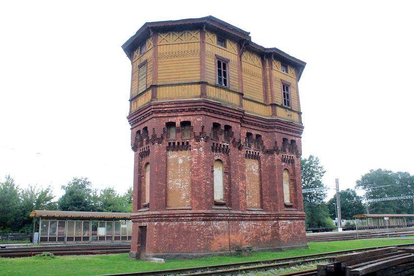 Kaišiadorių stoties vandens bokštas
