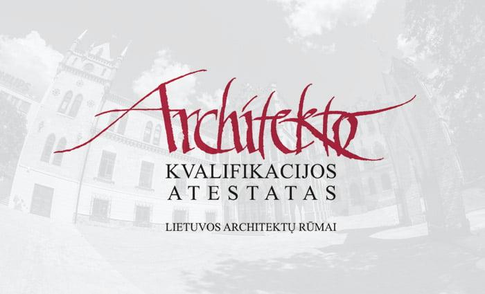 atestuotas architektas