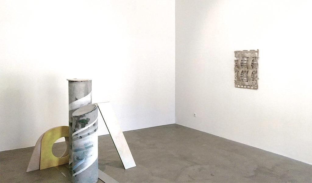 """Yasminas Altas, """"Brutalistinės kolonos fragmentas"""", 2017. Justino Dūdėno nuotr."""
