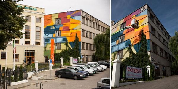 """Vilnius Street Art"" nuotr."