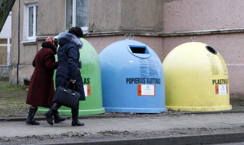 atliekų tvarkymo infrastruktūra