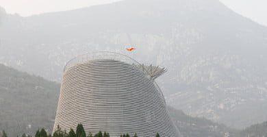 Šaolino skraidančio vienuolio teatras (Dengfeng, Henan prov., Kinija, 2016). Ansis Starks nuotr.