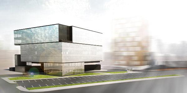 """Architektų biuro """"G. Natkevičius ir partneriai"""" vizual."""