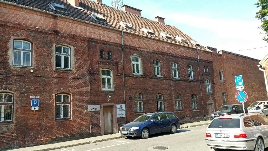 Administracinis pastatas. Jūros g. 1B, Klaipėda.