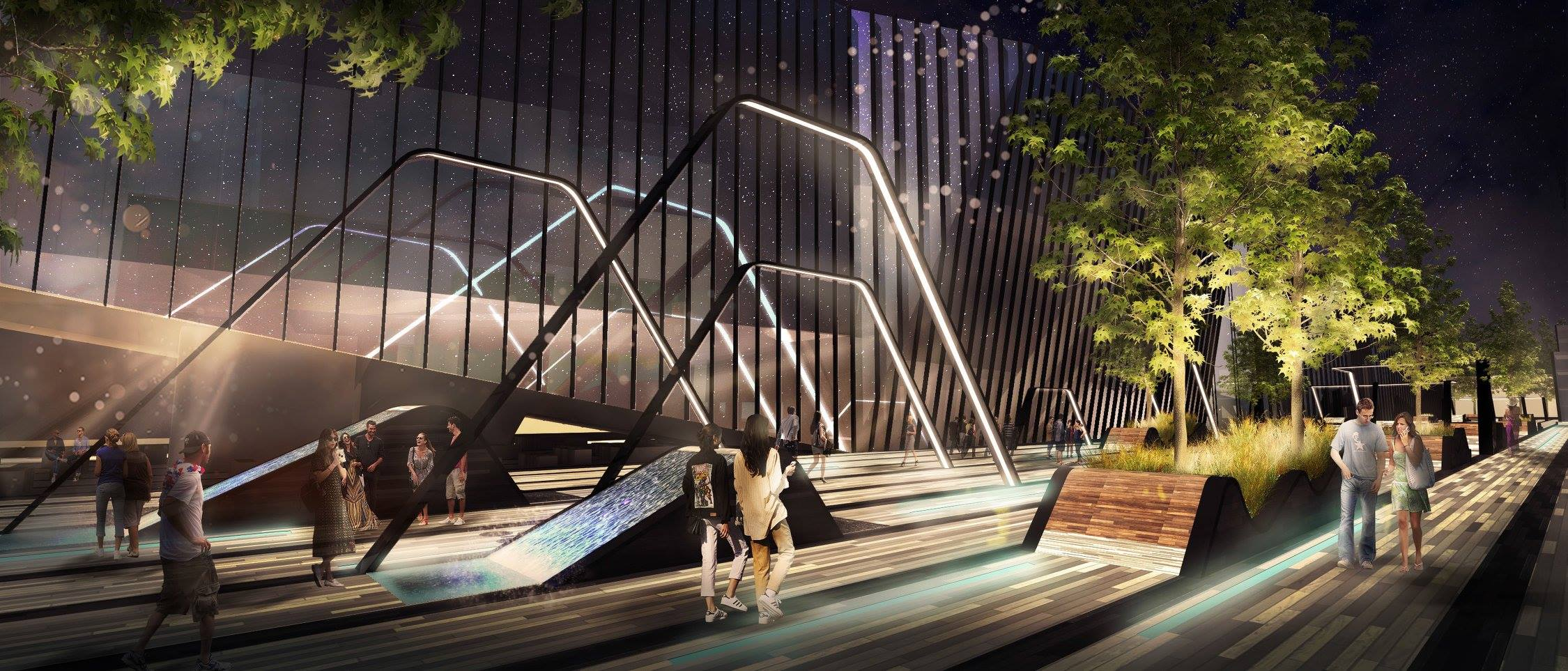 "Architektų studijos ""Martha Schwartz Partners"" vizual."