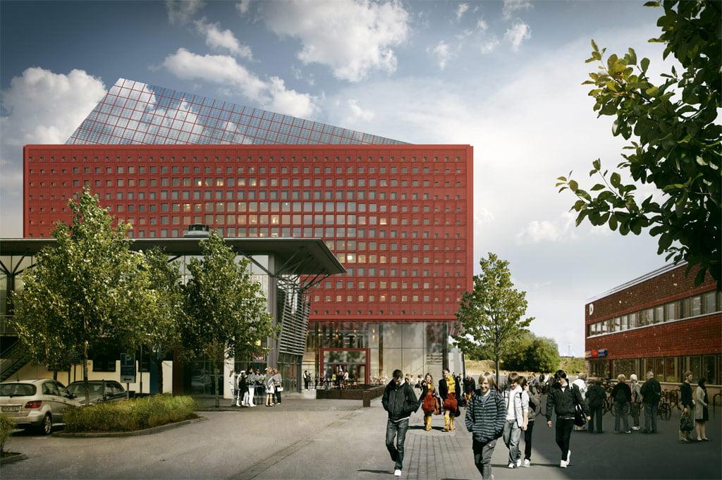 """""""Studenthuset, Campus Valla"""" vizual."""