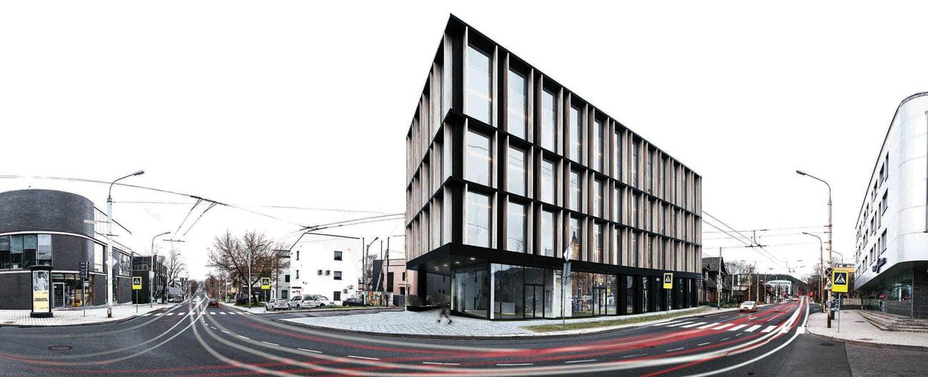 III vieta. Architektai – A. Burba, V. Bružas, A. Ramonas, V. Čeika.