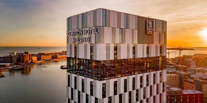 "Viešbutis ""Clarion Hotel Helsinki"".<br>nordicchoicehotels.com nuotr."