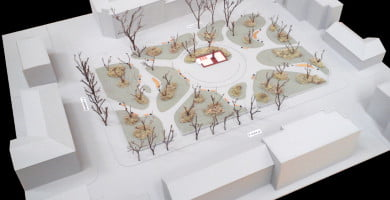 "Projektas ""Debesų sodas""."