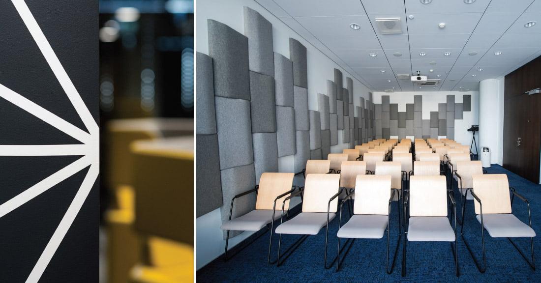 """""""Deltoje"""" įrengta keliolika skirtingų dydžių pasitarimams, pristatymams ar renginiams skirtų kambarių, kuriuose gali sutilpti nuo kelių iki keliasdešimties žmonių. Ligitos Vaitkutės nuotr."""