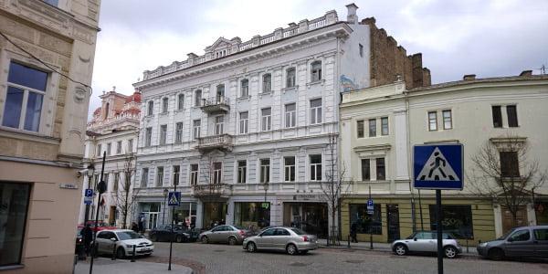 Pastatų kompleksas Didžiojoje g. Turo banko nuotr.