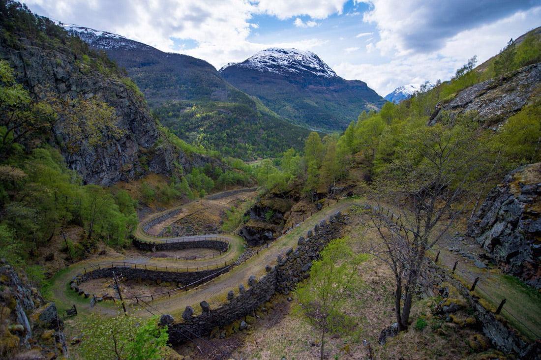 Karaliaus kelias per Filefjellio regioną Norvegijoje. s-media-cache-ak0.pinimg.com nuotr.