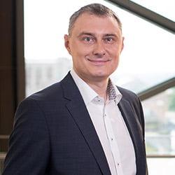 """Gediminas Misevičius.""""Swedbank"""" IT padalinio Lietuvoje vadovas."""