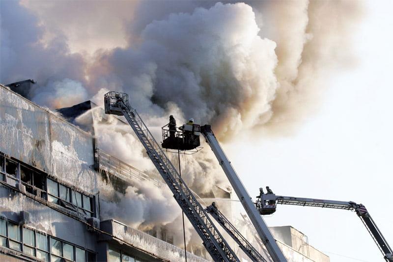 gaisrine sauga