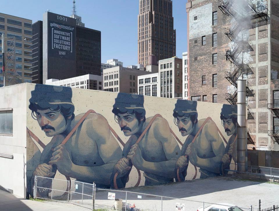 Aut. Aryz - Detroitas, JAV (Aryz nuotr.)