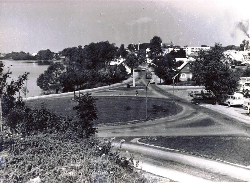 Trakai. Apie 1970 m.