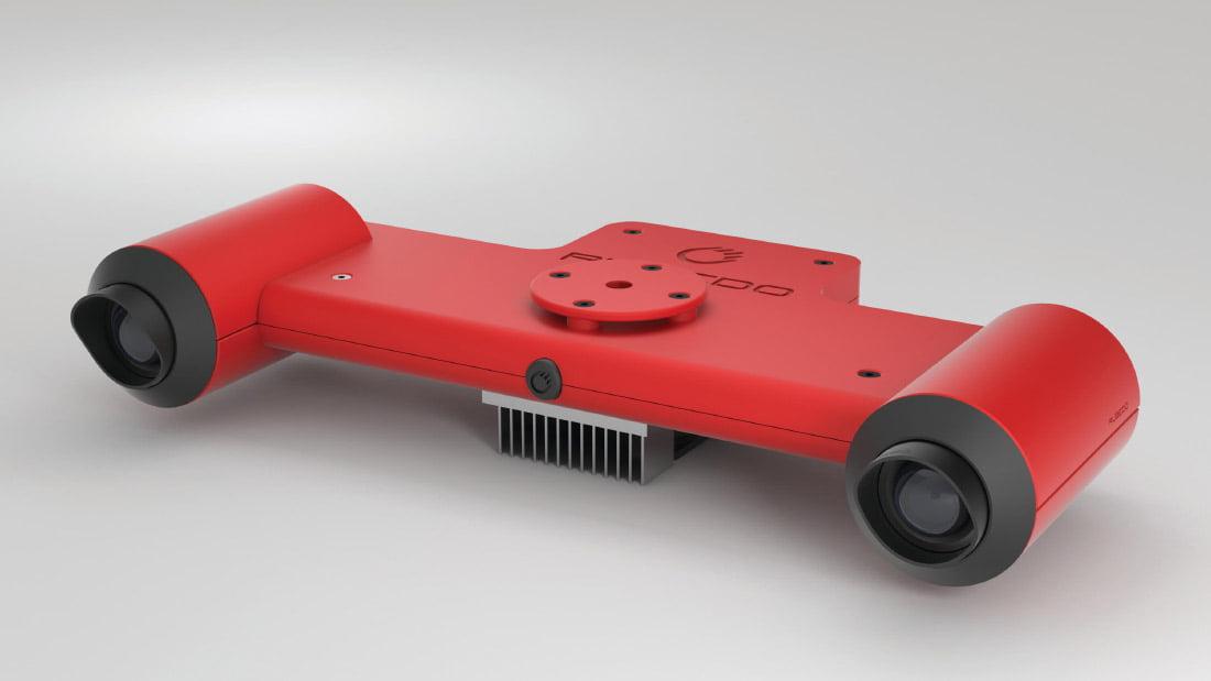 Stereokamera RUBEDO CVM.
