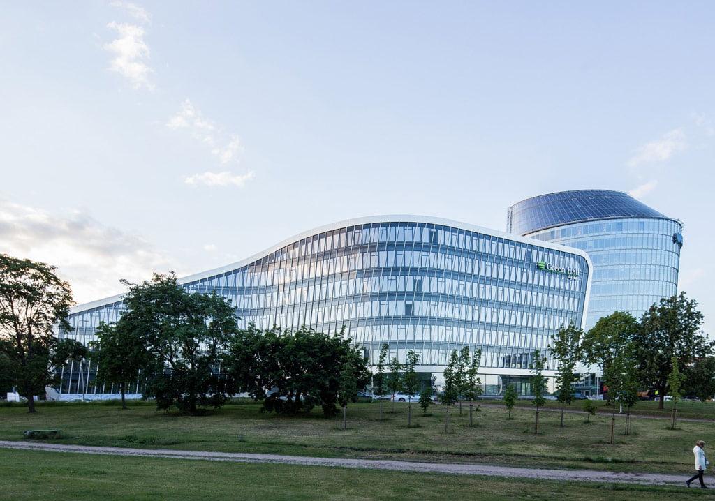 """Geriausiu architektūros kūriniu pripažintas verslo centras """"Green Hall 2"""". Norbert Tukaj nuotr."""