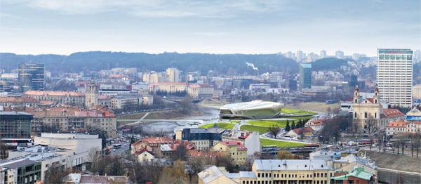 Vilniaus Guggenheimo–Ermitažo muziejaus projekto architektūrinio konkurso nugalėtoja išrinkta architekė Zaha Hadid