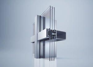 """Fasadinė sistema """"heroal C 50 HI"""" su moduline šilumos izoliacija – tai pažangūs technologiniai sprendimai ir kūrybos laisvė."""