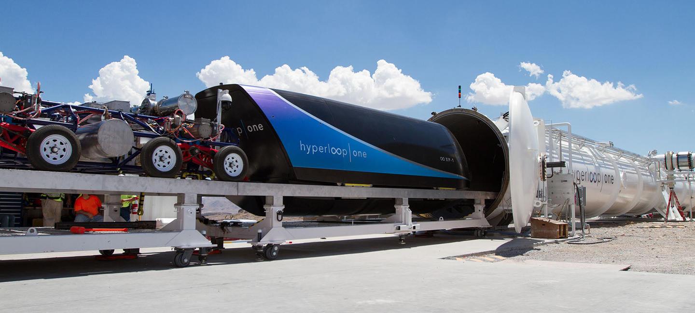 "Kompanijos ""Hyperloop One"" nuotr."