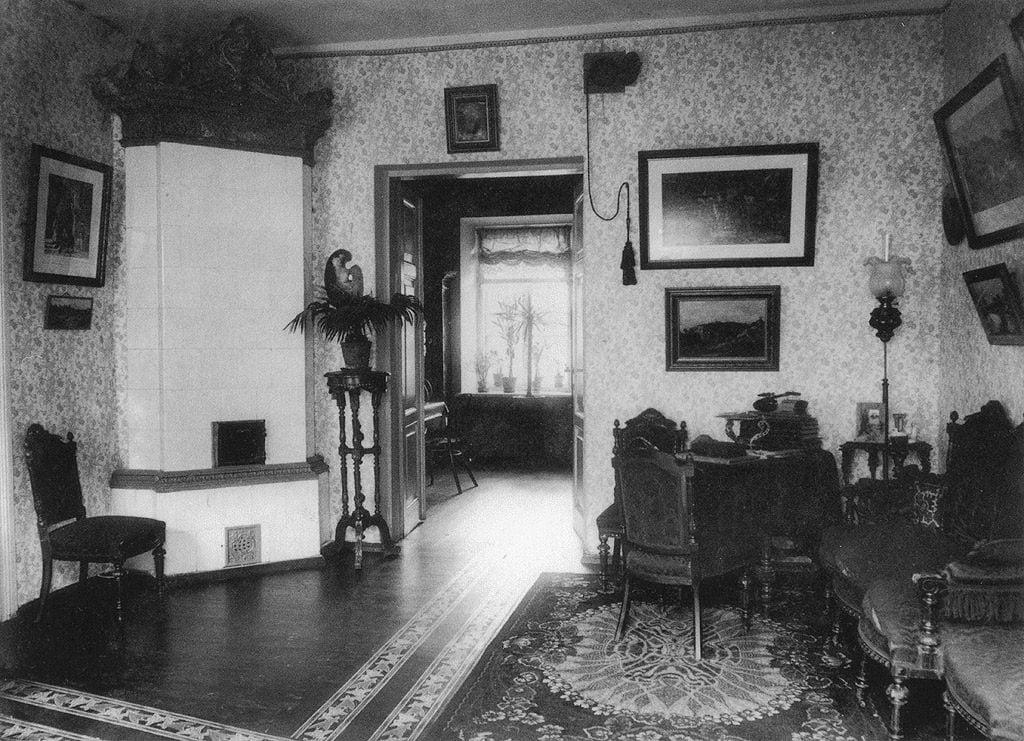 3 pav. S. F. Fleury namų interjeras, fot. autorius S. F. Fleury, XX a. 1 deš.