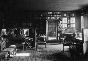 7 pav. T. Vrublevskio buto interjero fragmentas, fot. autorius J. Bułhakas, 1912–1913 m.
