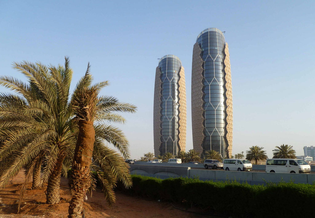 """Al Bahar Towers""."