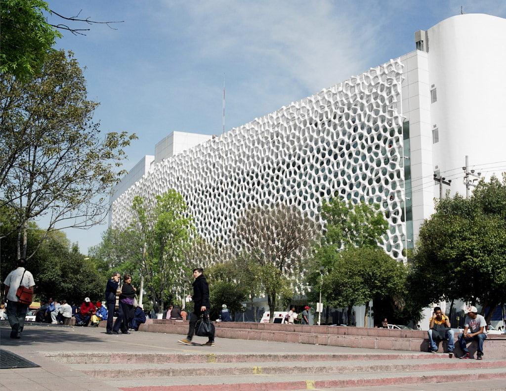 """Meksiko ligoninė """"Torre de Especialidades""""."""