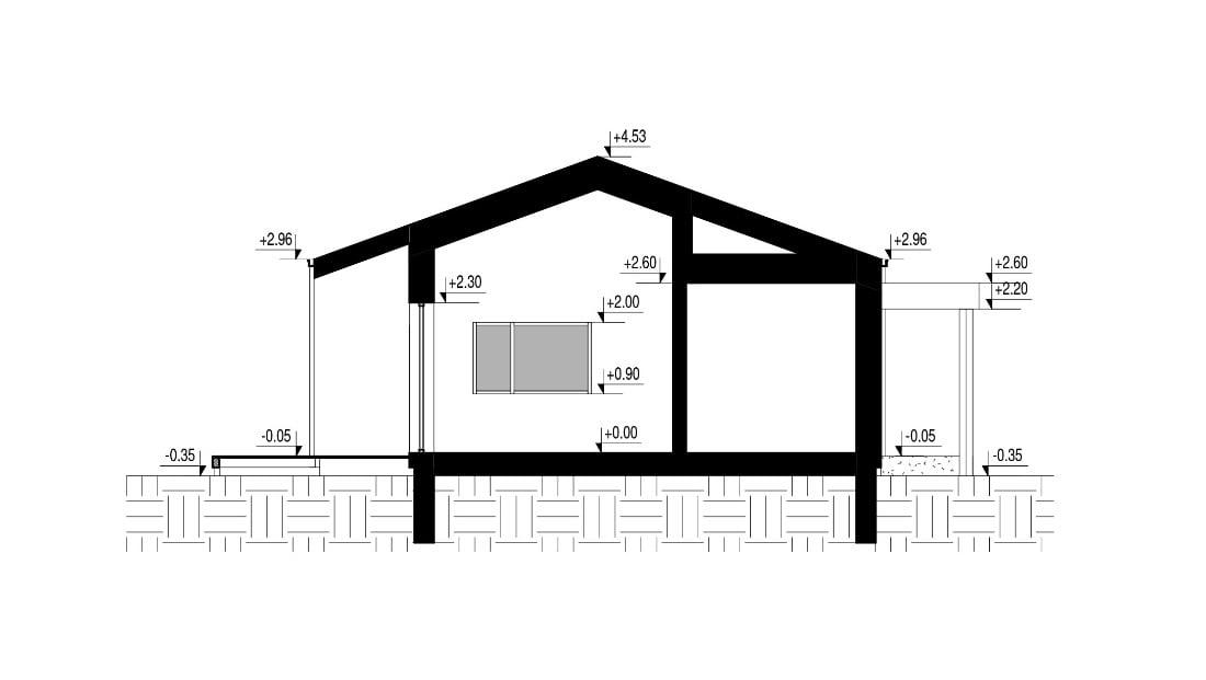 """Architektų biuro """"Kubinis metras"""" vizual."""